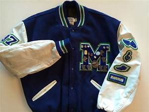 Varsity letter jacket amazing school jacket in blue green for Academic pins for letter jackets