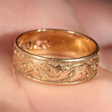 wedding ring shops chester 18k victorian wedding ring hallmarked chester 1903 from vsterling ruby