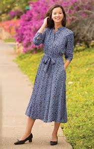 Elastic Waist Shirtdress / Vine Print Rayon Challis