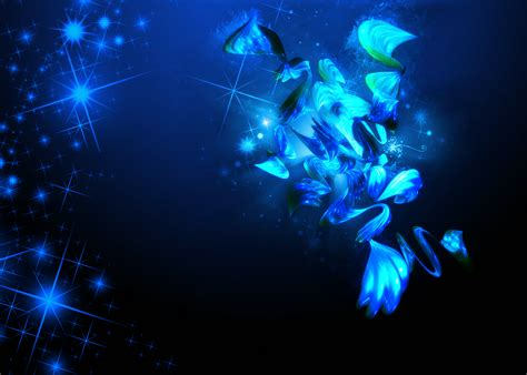 Cool Car Wallpapers For Desktop 3d Butterflies Greeting by Collection Of Abstract Blue Wallpapers Hd
