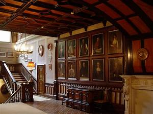 Old English Manor House Interior This hunting estate of
