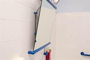 hauteur miroir salle de bain With porte de douche coulissante avec reglette led miroir salle de bain