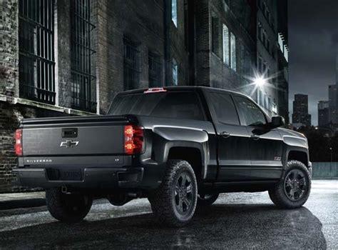2015 Chevrolet Silverado Midnight Special Edition Bows