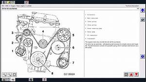 Solved  1994 Saab 900s  Serpentine Belt Diagram
