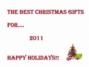 The best christmas 2011 gifts for The best 2011 holiday videos