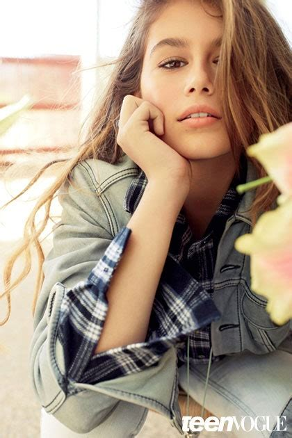 Kaia Gerber Interview Cindy Crawfords Daughter Talks About Modeling Teen Vogue