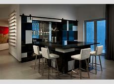 Bar Contemporary Home Bar Phoenix by Angelica