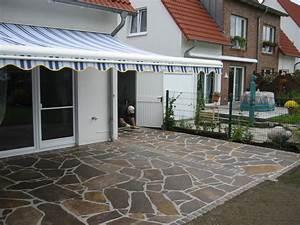 Terrasse Verlegen Preis : porphyr polygonalplatten garten und landschaftsbau patrick fink meisterbetrieb gladbeck ~ Markanthonyermac.com Haus und Dekorationen