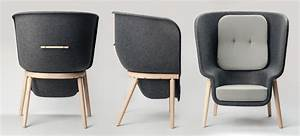 benjamin hubert: pod chair for de vorm