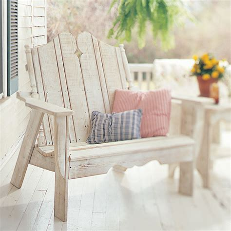 Outdoor Settee by Cliffside Outdoor Settee For Sale Cottage Bungalow