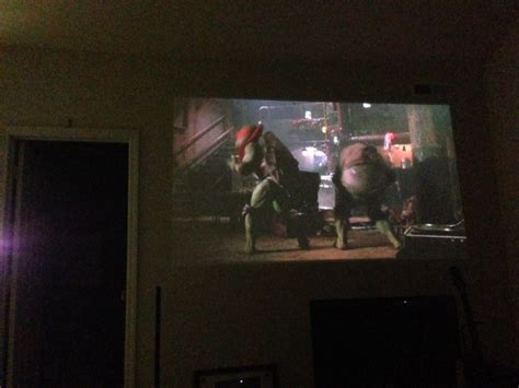 craft  pull  projector screen diy