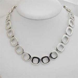 Collier argent 59 bijou moderne bijoux anciens paris for Argent bijoux