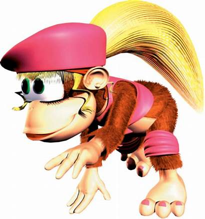 Kong Dixie Donkey Country Monkey Characters Ponytail