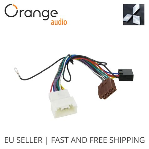 Mitsubishi Wiring Harnes Connector by Wiring Harness Adapter For Mitsubishi Outlander 2007 Iso