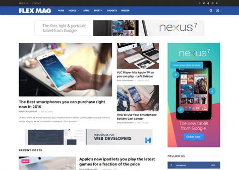 Flexmag Blogger Template Documentation