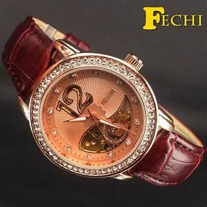 Marque De Montre Femme : fechi 2016 luxury watch woman automatic self wind ~ Carolinahurricanesstore.com Idées de Décoration
