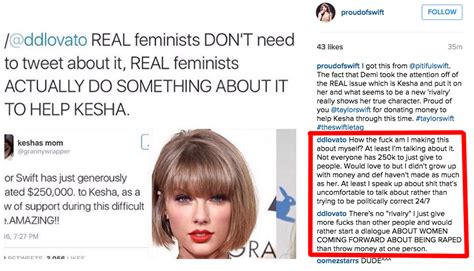 demi lovato is defending herself from fans on instagram