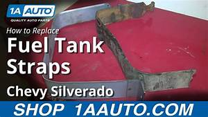 How To Replace Install Rusted Gas Tank Straps 1999
