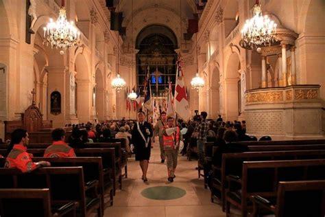 si e croix fran ise la croix fête ses 150 ans entourée d aumôniers