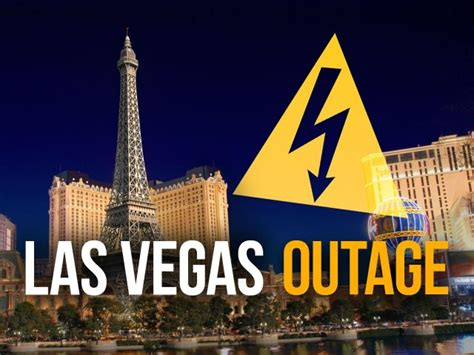 thousands evacuated  power outage hits las vegas resort