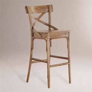 French Bistro Stools - Rustic - Bar Stools And Counter