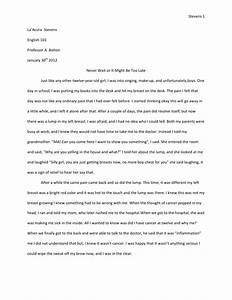 Sample memoir essays drinking and driving essays example college ...