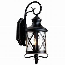 Allen + Roth 2925in Bronze Outdoor Wall Mounted Light