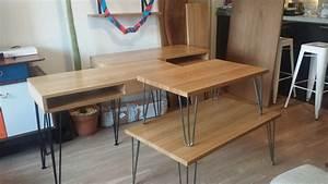 Table Basse Pied Epingle : pied en bois pour table basse simple on aime cette table ~ Dailycaller-alerts.com Idées de Décoration