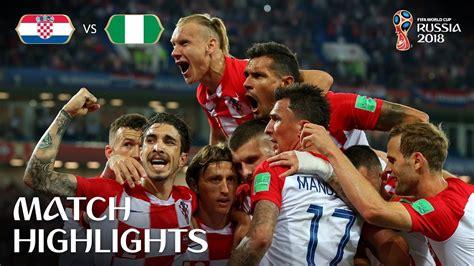 Croatia Nigeria Fifa World Cup Russia Match
