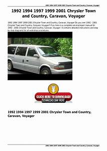 1997 Chrysler Town Country Service Manual