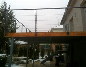 Terrasse Metallique Suspendue : terrasse suspendue en fer ~ Dallasstarsshop.com Idées de Décoration