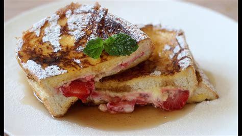 Stuffed French Toast Recipe Youtube