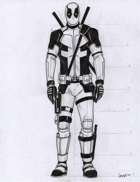 imagenes para colorear de deadpool como dibujar a deadpool kawaii imagenes de marvel mi