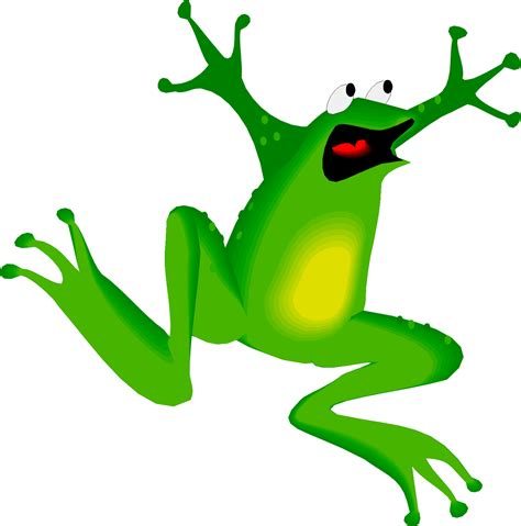 Frog Clip Frogs Images Clipart Best