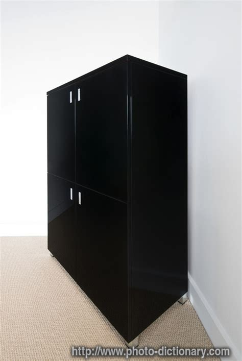 Meaning Of Cabinet by Cabinet Photo Picture Definition At Photo Dictionary