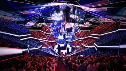 Esports Future Esport Arenas Arena Venue Entertainment
