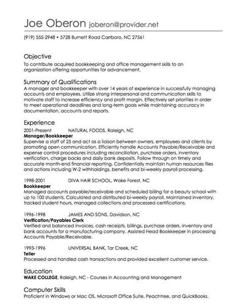 resume work experience order best resume gallery
