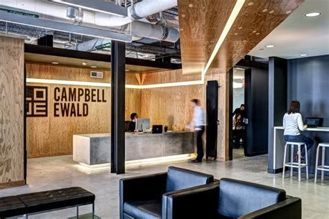 Lowe Campbell Ewald office by Neumann Smith Architecture