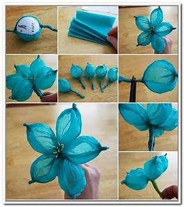 Handmade Paper Flowers Step By Step Dailymotion - Florals ...
