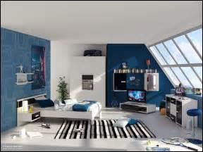dachgeschoss modern gestalten junge room inspiration