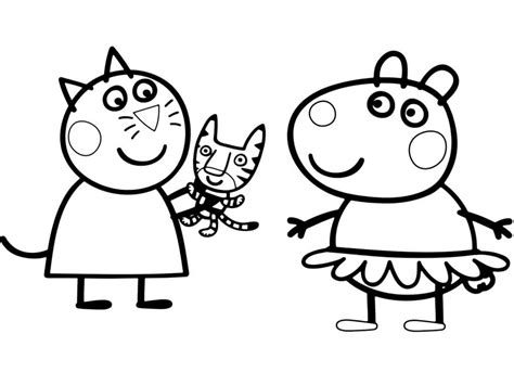 Huge Gift Peppa Pig Coloring Page 30 Printable Pages You