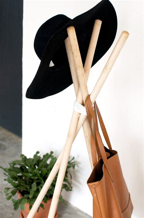 diy hat rack diy hat rack that is simple clean and chic froy