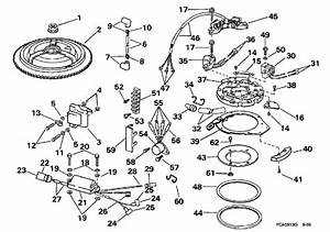 Evinrude Ignition Parts For 1998 25hp E25elece Outboard Motor