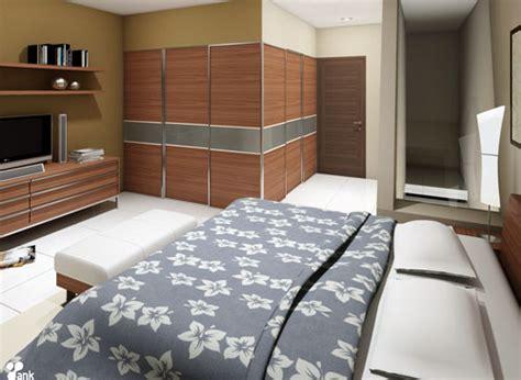 kreasi desain interior kamar tidur sederhana