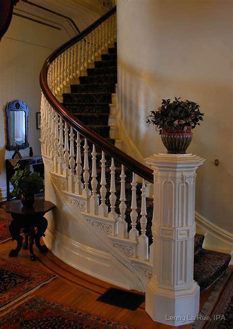 beautiful spiral staircase  californias historic