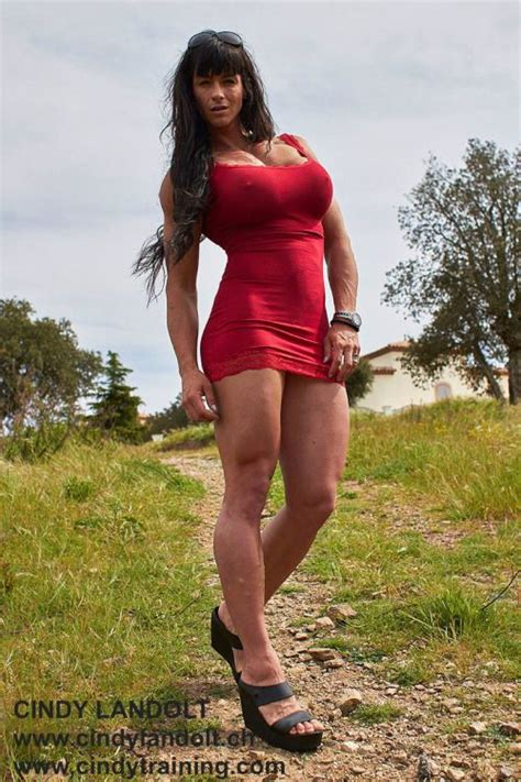 155 best images about cindy landlot on pinterest bodybuilder muscular women and training