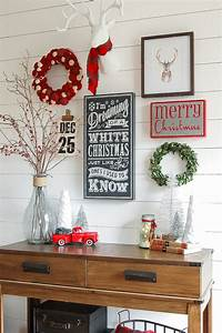 Easy, Christmas, Wall, Decor, Ideas, That, You, Will, Love