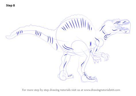 step  step   draw  spinosaurus