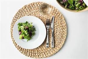 Set De Table En Bambou : id es cr atives de sets de table avec de la r cup ~ Premium-room.com Idées de Décoration