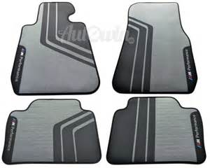 bmw 3 series f30 f31 m performance original floor mats set